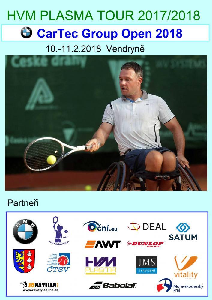 Tenisový turnaj vozíčkářů ve Vitality